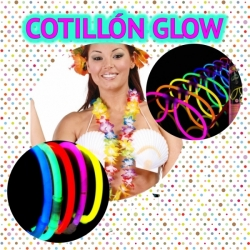 Cotillón Kit fiesta Luminoso Glow Photocall Pack