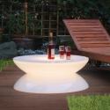 Table d'hospitalité éclairée par lumière LED, RGB, sans fil, Lounge Bar