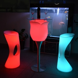 Mesa de luz led Bubble