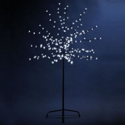 Arbol luminoso Led 150cm,  200 Led, blancos