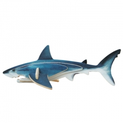 Pack of 12 Blue Shark 3D Mini Puzzle Children Groups Gift, Birthday Guests Gift