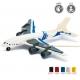 DIY Passenger Plane 3D Wood Painting Puzzle