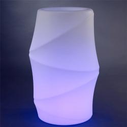 Macetero, Maceta luminosa led 'Tokio', 96 cm, luz 16 colores