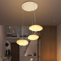3 Clouds LED Ceiling Pendant Lamp