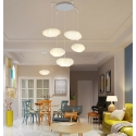 5 Clouds LED Ceiling Pendant Lamp