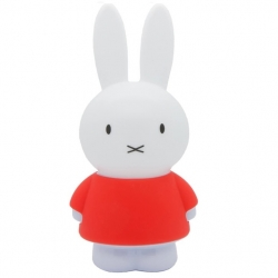 Lámpara led infantil 'Conejo' camiseta, quitamiedos 45cm