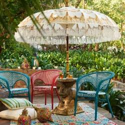 Balinese parasol, Umbrella 3 meters diameter, Paradise Luhur