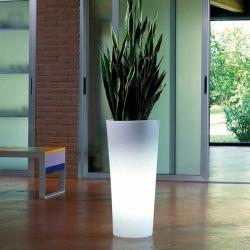 Macetero, Maceta luminosa led 'Vigo', 60cm, luz 16 colores