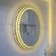 Espejo Ovalado Luxury con Luz LED