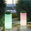 LED Flowerpot 'Cies', various sizes, 16 colours light
