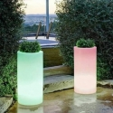 Macetero Maceta luminosa led 'Cies' 40x80 cm, luz 16 colores