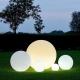 Boule, sphère avec RGBW 50 cm lumière LED, batterie rechargeable