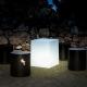 Led light cube, 40 cm, light of 16 colors, portable