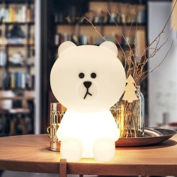 "Children LED Warm Light ""Teddy"" Lamp"