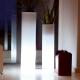 LED Flowerpot 'Cies' 40x115 cm, 16 colours light