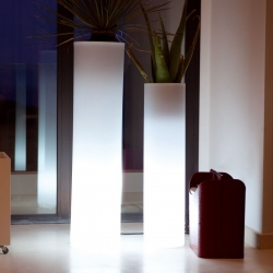 Pot Light pot LED 'Cies' 40x115 cm, lumière 16 couleurs