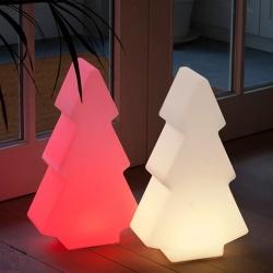 Arbre de Noël avec contrôleur de lumière LED 50cm de RGBW et batterie rechargeable