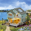 DIY House with Porch and Garage 3D Puzzle with Light and Music