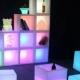 40 cm Open LED cube, 16 colors light, portable