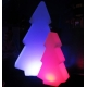 Arbre de Noël lumineux LED 82 cm, lumière 16 couleurs