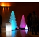 Christmas tree, led, RGB, rechargeable, 50cm