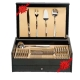 Luxury Antique Cutlery Set Gift Box 24/48/75/113 Pieces INOX 18/10 3 mm