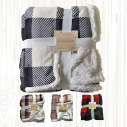 Coralina Plaid Blanket Color 130x160 cm for Sofa, Smooth,  Soft, Extra Comfort