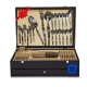 Set 130 Pieces Cutlery De Luxe Gift Box with Meat Knife