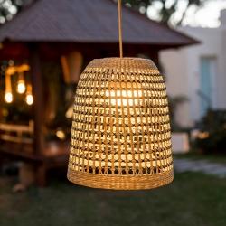 Luminária pendente para exterior Rustik 35 cm