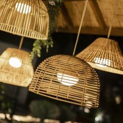 Lámpara colgante de exterior Rustik 20 cm
