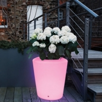 LED Flowerpot 'Dusseldorf', 16 colors light