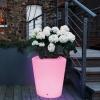 LED Flowerpot 'Dusseldorf', 16 colors light