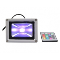 Projecteur LED 10W, RGB