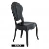 Chaises italiennes noires, Belle Epoque