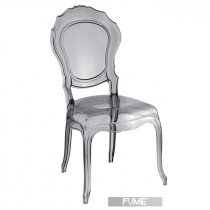 Smoked Italian chairs, Belle Epoque