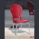Red Italian chairs, Belle Epoque