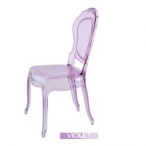 Violet Purple Italian chairs, Belle Epoque