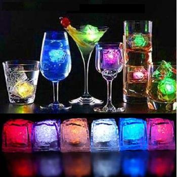 Cubitos de hielo, led, RGB, 3x3cm