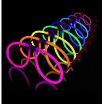 Gafas fiesta glow luminosas, Aviador (50 gafas)