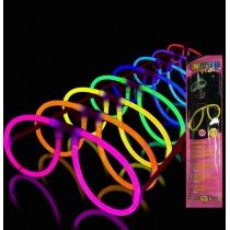 Lunettes lumineuses Glow, Aviateur, Singles (10 verres)