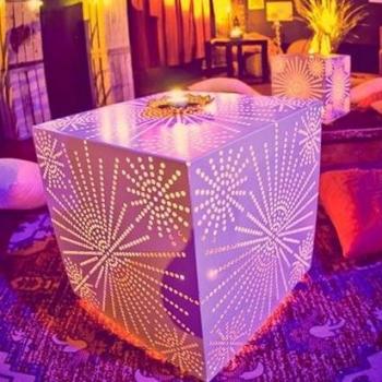 Led light Balu cube, 42.5cm