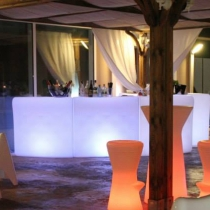 Barra de bar led Creta