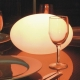 Lámpara Bola led 'Sarai' 30x20 cm, luz 16 colores, portátil, flotante