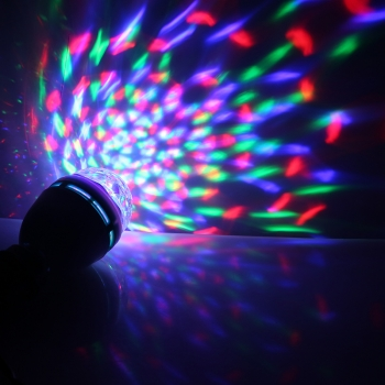 Bombilla Led E27 Disco 3x1W Multicolor