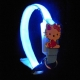 Collar luminoso led perro toys mini