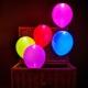 Ballons led, lumière, scintillement