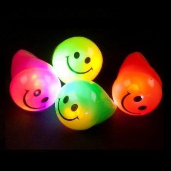Bague LED de partie, sourire