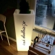 LED Flowerpot 76cm 16 RGBW colours light 'Amsterdam'