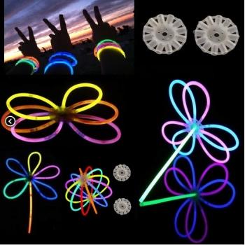 Connecteurs de lueur circulaire