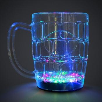 Cruche lumineuse de LED de bière